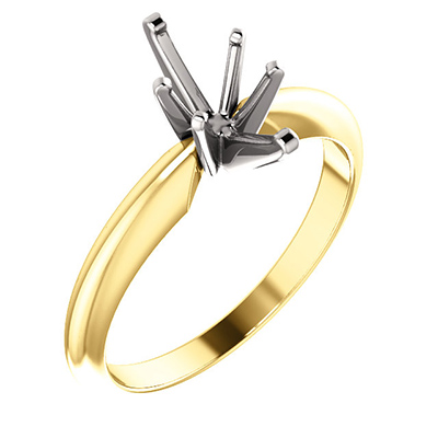 6x3 Marquise Solitaire Ring Setting