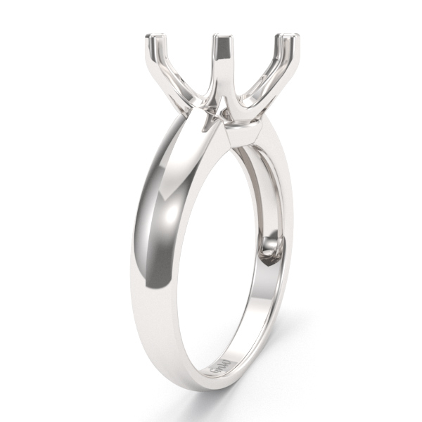 10mm 6 prong Engagement Ring Mounting