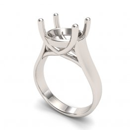 8.2mm Round Trellis Ring setting